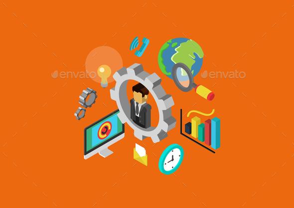 GraphicRiver Web Concept 9542311