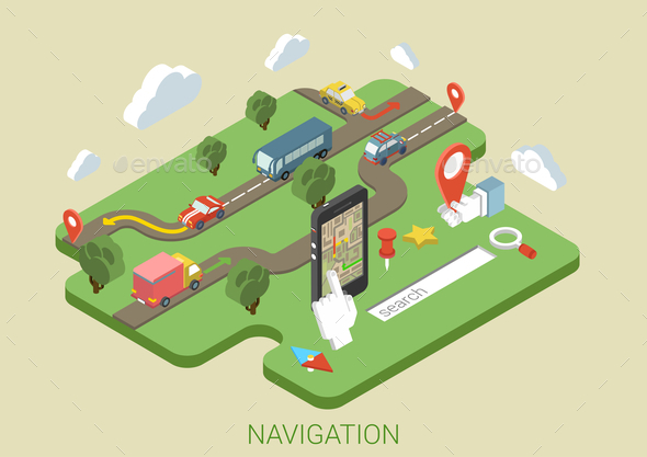 GraphicRiver Navigation Concept 9542333