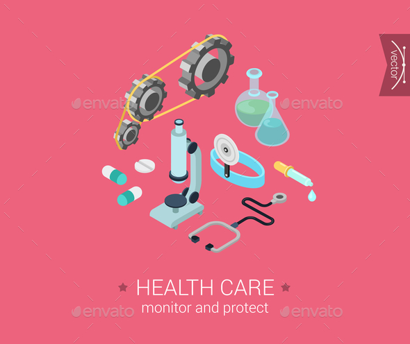 GraphicRiver Health Care Concept 9542349