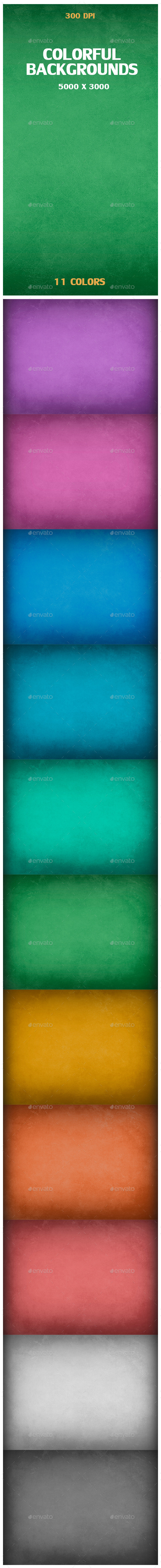 GraphicRiver 11 Textured Backgrounds 9495408