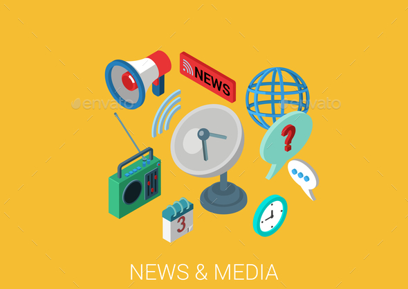 GraphicRiver News and Media Concept 9542533