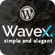 WaveX - One Page Parallax WordPress Theme