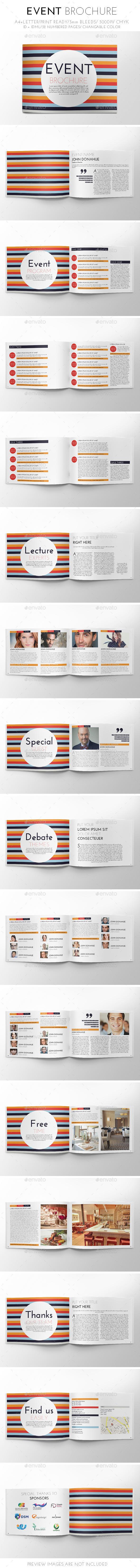 GraphicRiver Event Brochure Template 9542887