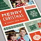 Illustrated Christmas Photo Card - GraphicRiver Item for Sale