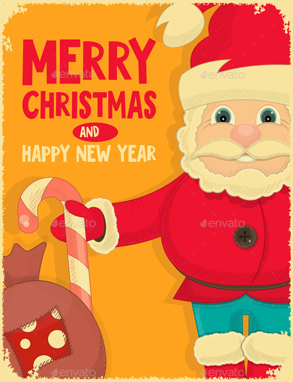 GraphicRiver Merry Christmas Greeting Card 9543192