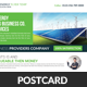Green Energy Business Postcards Bundle - GraphicRiver Item for Sale