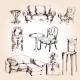 Furniture Sketch Set - GraphicRiver Item for Sale