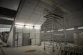 Large interior underground being renovated - PhotoDune Item for Sale