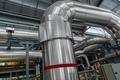 Industrial pipes in a thermal power plant - PhotoDune Item for Sale