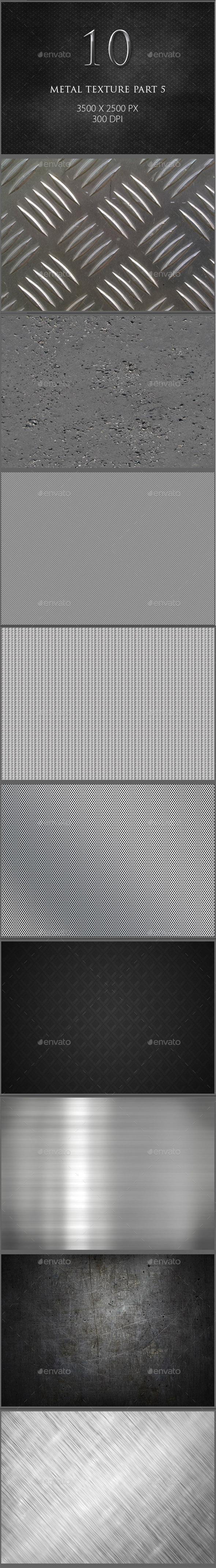GraphicRiver 10 Metal Texture Part 5 9543840