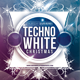 Techno White Christmas Flyer Template - GraphicRiver Item for Sale