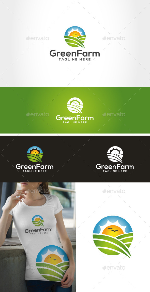 GraphicRiver Green Farm 9490045