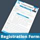 Registration  Contact  Form V1 - GraphicRiver Item for Sale