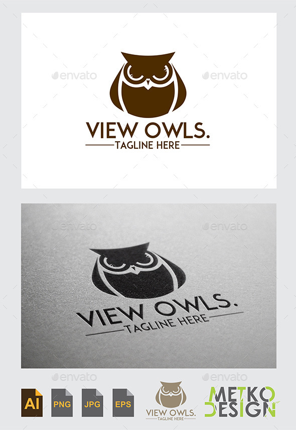GraphicRiver Owl Logo 9492009