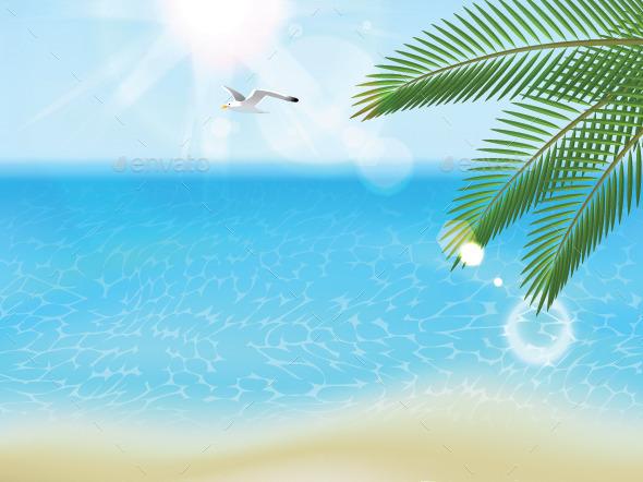 GraphicRiver Sea Landscape 8819649