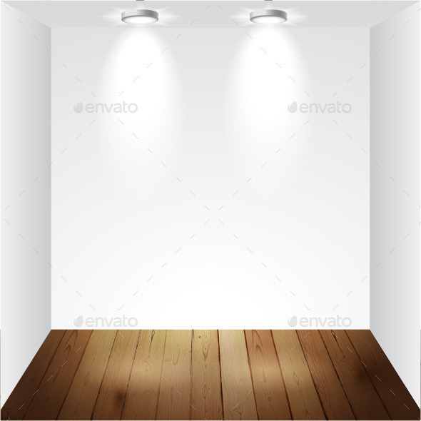 GraphicRiver Empty White Room 8323190