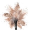 White powder explosion isolated on black - PhotoDune Item for Sale