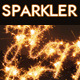 Sparklers Light Trails Photoshop Actions - GraphicRiver Item for Sale