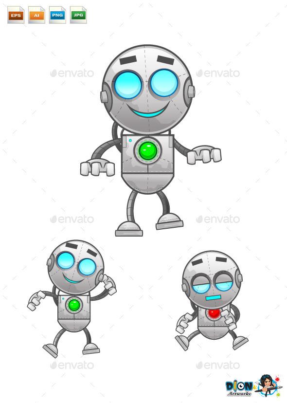 GraphicRiver Cartoon Robot 9545806