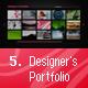 Designer's Portfolio - ActiveDen Item for Sale
