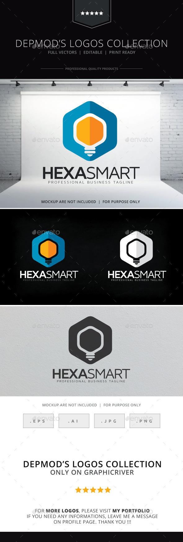 GraphicRiver Hexa Smart Logo 9545934
