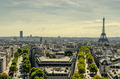 Parisian skyline - PhotoDune Item for Sale