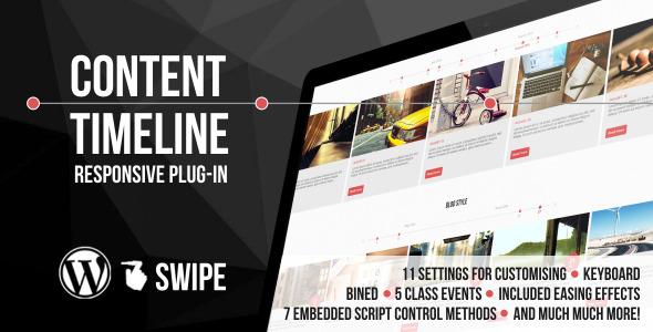 Content Timeline - Responsive WordPress plugin - CodeCanyon Item for Sale