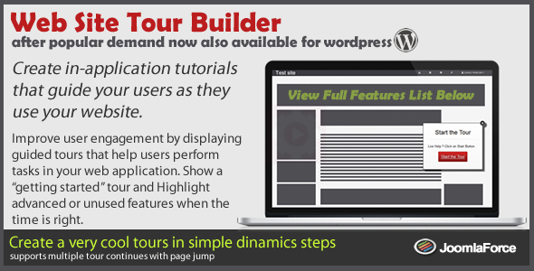 CodeCanyon Web Site Tour Builder For Wordpress 9495494