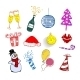 Set of Christmas Ornaments  - GraphicRiver Item for Sale