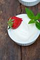 organic Greek yogurt and strawberry - PhotoDune Item for Sale