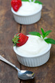 organic Greek yogurt and strawberry - PhotoDune Item for Sale