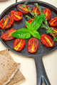 baked cherry tomatoes with basil and thyme - PhotoDune Item for Sale