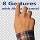 Touch Screen Finger Gestures - VideoHive Item for Sale