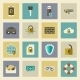 Cyber Defense Flat Icons Set - GraphicRiver Item for Sale