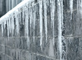 Row of long icicles - PhotoDune Item for Sale