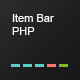 Item Bar PHP - CodeCanyon Item for Sale