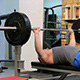 Man Does Bench Press Barbell 1 - VideoHive Item for Sale