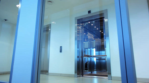 Elevator in Office Building