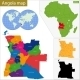 Angola Map - GraphicRiver Item for Sale