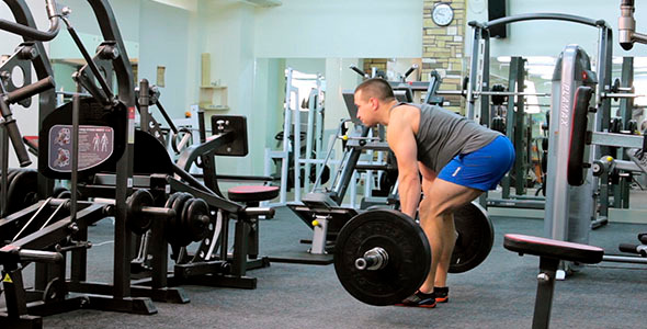 Performing The Deadlift