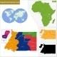 Equatorial Guinea Map - GraphicRiver Item for Sale