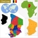 Chad Map - GraphicRiver Item for Sale
