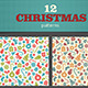 12 Christmas Pattern - GraphicRiver Item for Sale