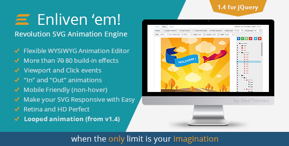 Enliven em Animation Engine for Vector Graphic