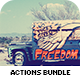 70+ Beautiful Actions Bundle - GraphicRiver Item for Sale