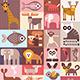 Animals Vector Illustration - GraphicRiver Item for Sale
