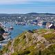 Saint Johns downtown harbour Signal Hill NL Canada - PhotoDune Item for Sale