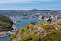 Saint Johns downtown harbour Signal Hill NL Canada - PhotoDune Item for Sale