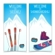 Winter Sports Banners. - GraphicRiver Item for Sale