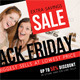 Black Friday Postcard Template V03 - GraphicRiver Item for Sale